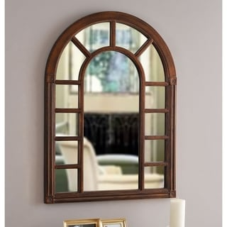 "Link to Basilica 38-inch Bronze Wall Mirror - 28"" x 38"" Similar Items in Decorative Accessories"