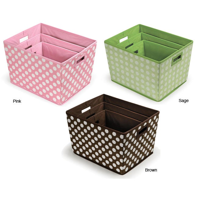 Badger Basket Nesting Trapezoid 3-basket Set