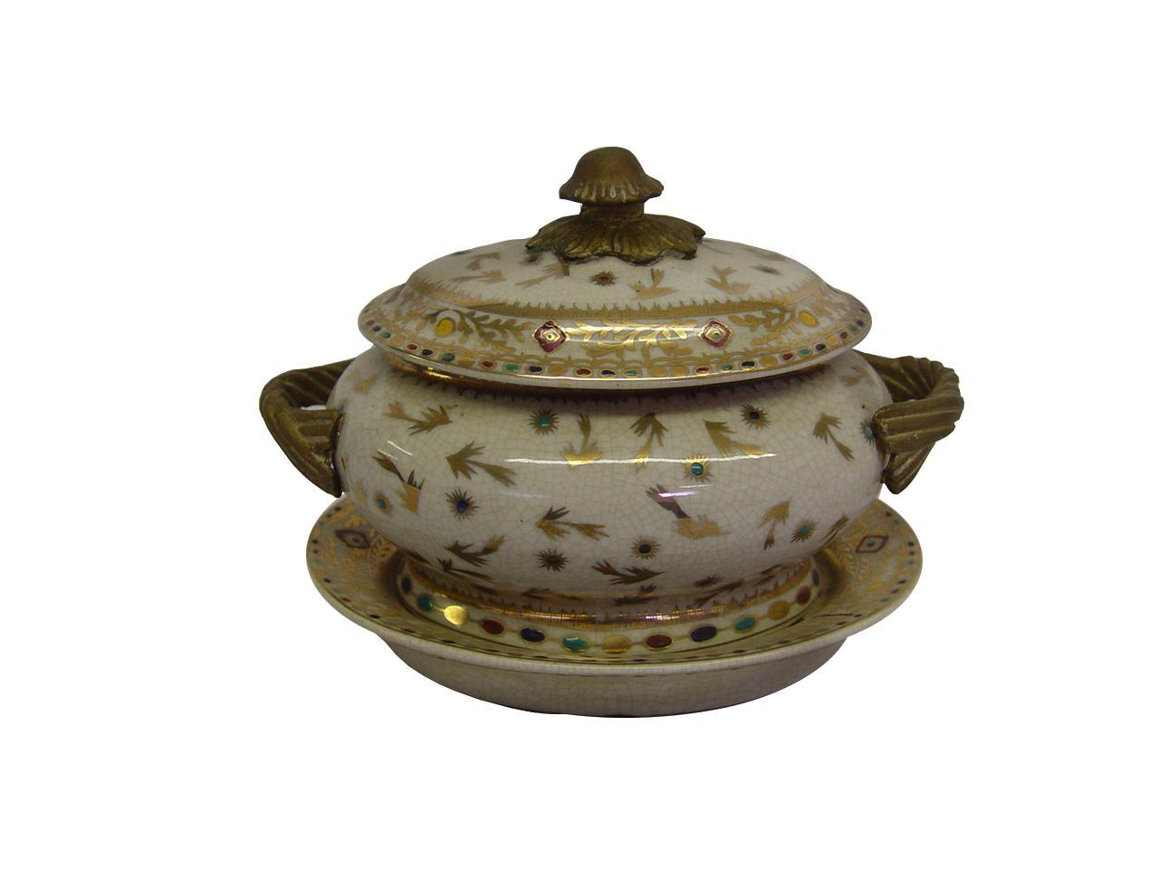 Golden Hays Porcelain Tureen
