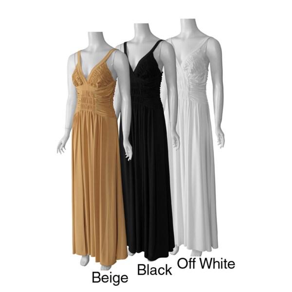 Party Line Designs Women's Evening Maxi Dress