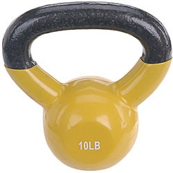 Sunny Vinyl Coated 10-pound Kettle Bell