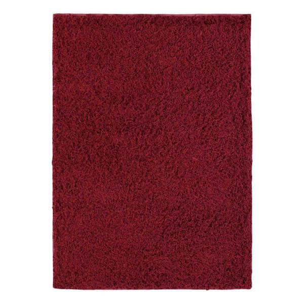 M.A.Trading Hand-woven London Mix Red Wool Rug (4'6 x 6'6) (India)