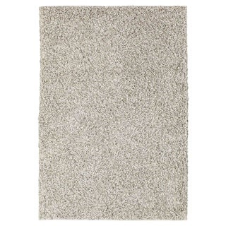 M.A.Trading Hand-woven London Mix White Wool Rug (6 6 x 9 9)