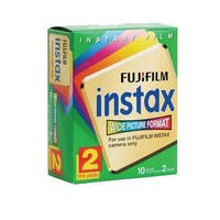 FujiFilm Fuji Instax Wide Picture Format Instant Film (Pack of 2)