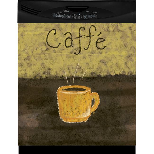Appliance Art Caffe Dishwasher Cover