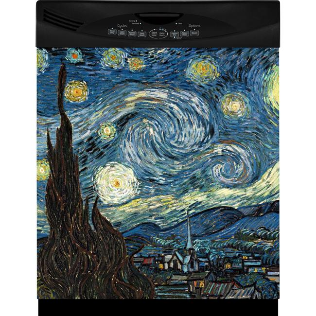 Appliance Art Starry Night Dishwasher Cover Free