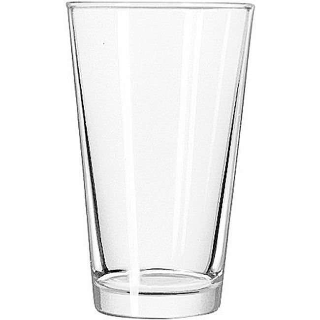 Libbey 16-oz Mixing Glasses (Case of 24), Clear