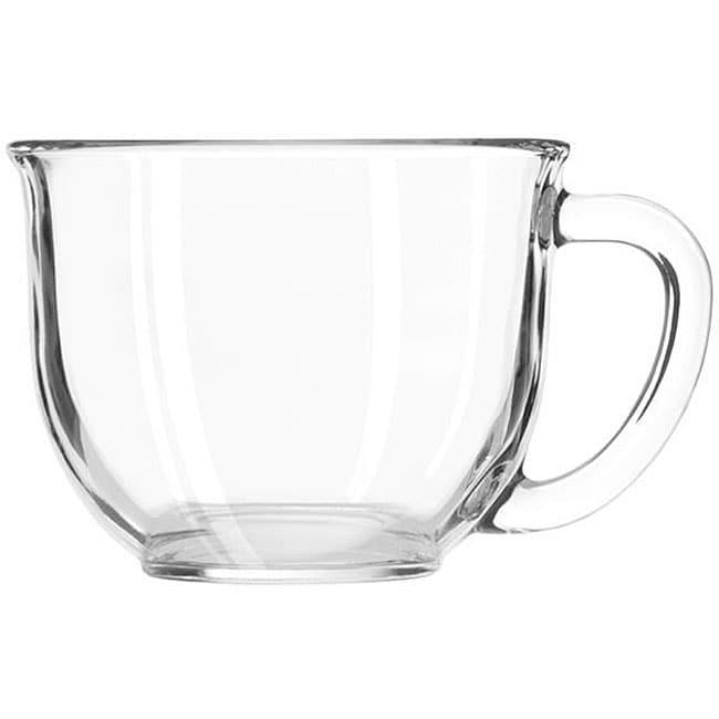 Libbey Clear 16-oz Goumet Mugs (Pack of 6)