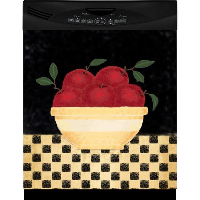 Appliance Art Apple Bowl Dishwasher Cover