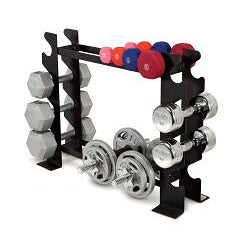 Marcy Compact Dumbbell Rack - Thumbnail 1