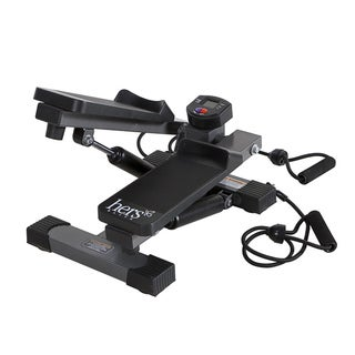 Mini Stepper With Resistance Bands Free Shipping Today