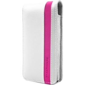 Marblue Accent 602956008392 Carrying Case (Flip) for iPhone - White,