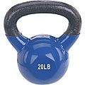 Sunny Vinyl Coated 20-pound Kettle Bell