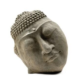 Stone Buddha Face Statue (Indonesia)