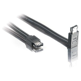 C2G 2m 180 to 90 External Serial ATA Cable