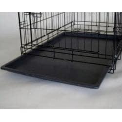 GoPetClub 36-inch 2-door Folding Dog Crate - Thumbnail 2