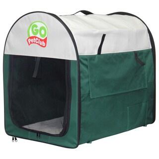 GoPetClub 18-inch Dog Pet Folding Kennel