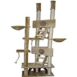 Go Pet Club Huge 106-inch Cat Tree House Scratcher