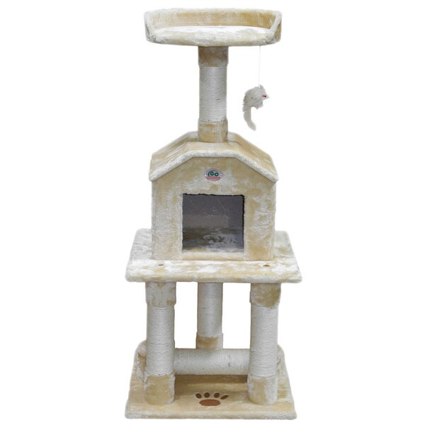 GoPetClub Scratcher and 45-inch Cat Tree