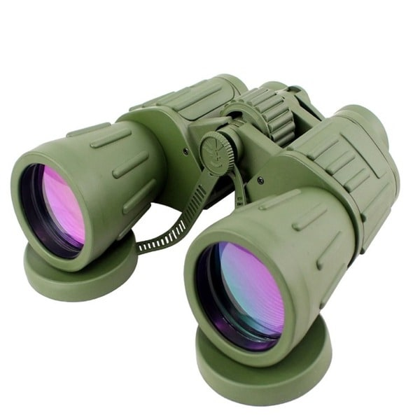 Perrini Green 60 X50 Army Binoculars by Generic