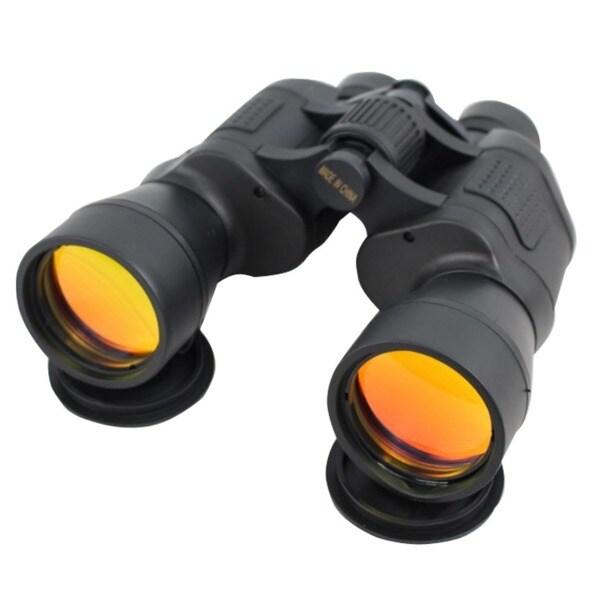 Ruby Coated Black 20x50 Binoculars