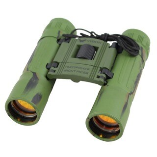 Ruby Lens 10x25 Camo Binocular