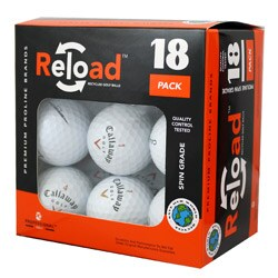Reload 18-pack of Callaway Golf Balls (Pack of 12)