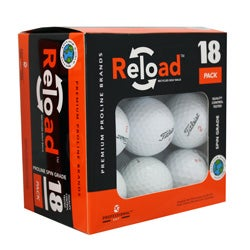 Reload 18-pack of Titleist Golf Balls (Pack of 12)