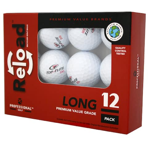 Reload 12-pack of Top Flite Golf Balls (Case of 24)
