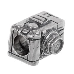 Sterling Essentials Sterling Silver Camera Bead