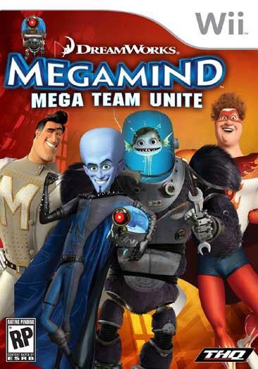 Wii - Megamind: Mega Team Unite - By THQ