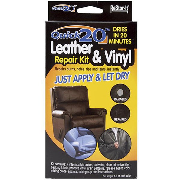 Shop As Seen On Tv Re Stor It Quick 20 Leather And Vinyl