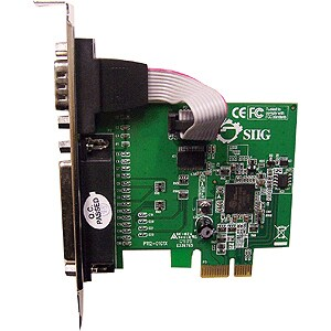 SIIG Cyber JJ-E00011-S3 PCIe Serial/Parallel Adapter