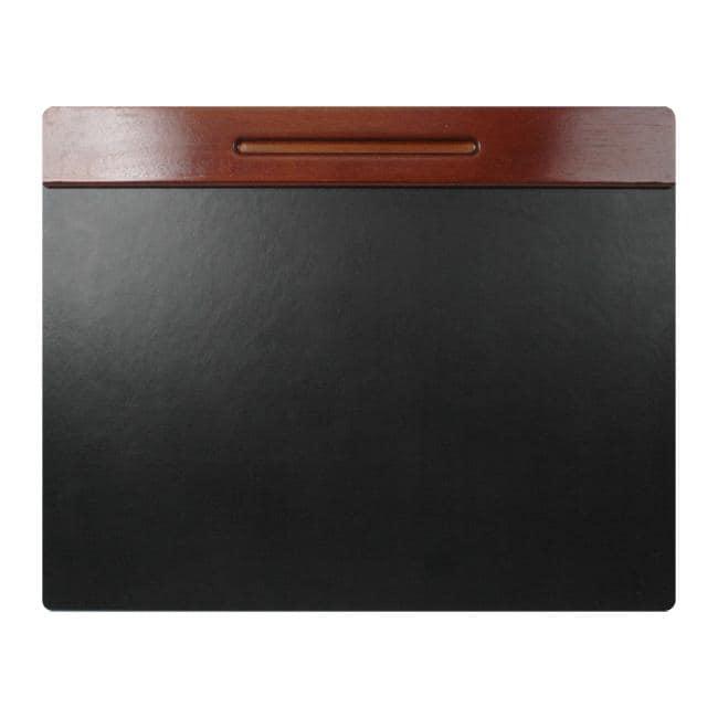 Rolodex 24 x 19-Inches Wood Tones Desk Pad