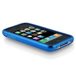 INSTEN TPU Rubber Skin Phone Case Cover for Apple iPhone 3G/ 3GS - Thumbnail 1