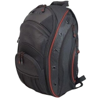 "Mobile Edge - EVO 15.6"" Backpack - Black w/ Red Trim"