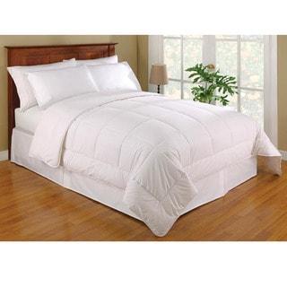 Australian Wool-filled Sateen 233-thread Count Cotton Comforter