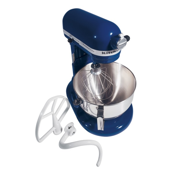Shop Kitchenaid Rkv25g0xbu Cobalt Blue Professional 5 Plus