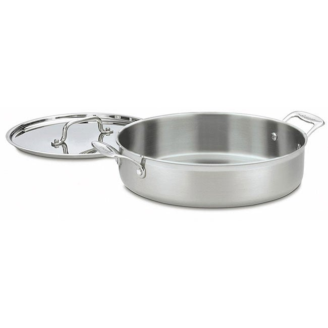 Cuisinart MCP55-30 MultiClad Pro Stainless Steel 5.5-quart Casserole