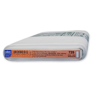 Pellon 725 Heavy-Duty Wonder Under Paper-Backed Fusible Web (17-inch x 10yd)