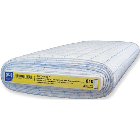 Pellon Tru-Grid Sheer Polyester 1-inch Craft Graph (45-inch x 10 yd)