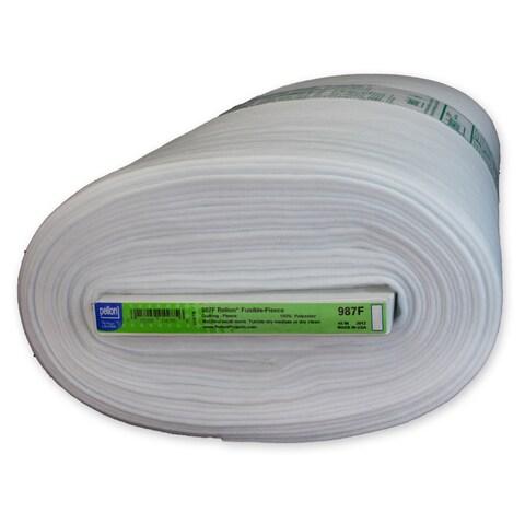 Pellon White Polyester 10-yard Fusible Fleece