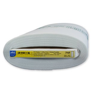 Pellon 71F Pelte x Ultra-Firm 1-Sided Fusible Stabilizer (20-inch x 10yd)
