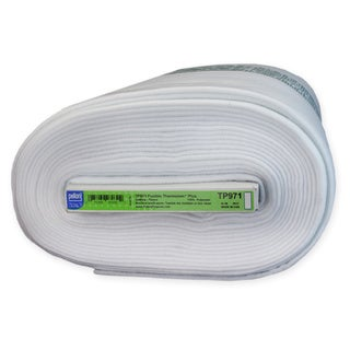 Pellon Fusible Thermolam Plus Extra Lofty White Polyester Fleece Batting (45-inch x 10 yd)