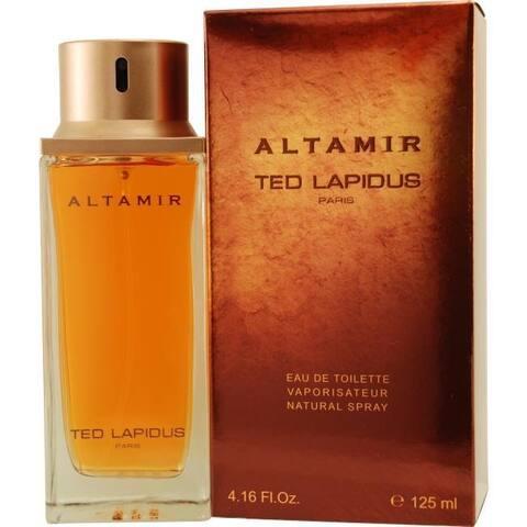 Ted Lapidus Altamir Men's 4.2-ounce Eau de Toilette Spray