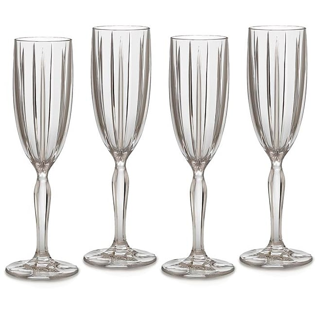 Marquis by Waterford 'Omega' Champagne Flutes (Set of 4)