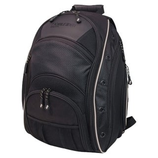 "Mobile Edge - EVO 15.6"" Backpack - Black w/ Silver Trim"