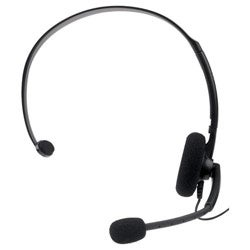 Xbox 360 - Wired Headset (Black) - By Microsoft