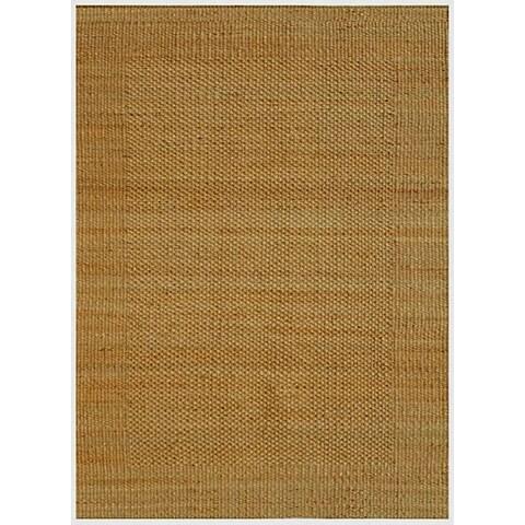 Hand-woven Natural Jute Rug (8' x 11') - 8' x 11'