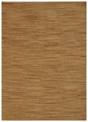 Hand-woven Abrush Natural Jute Rug (5' x 8')